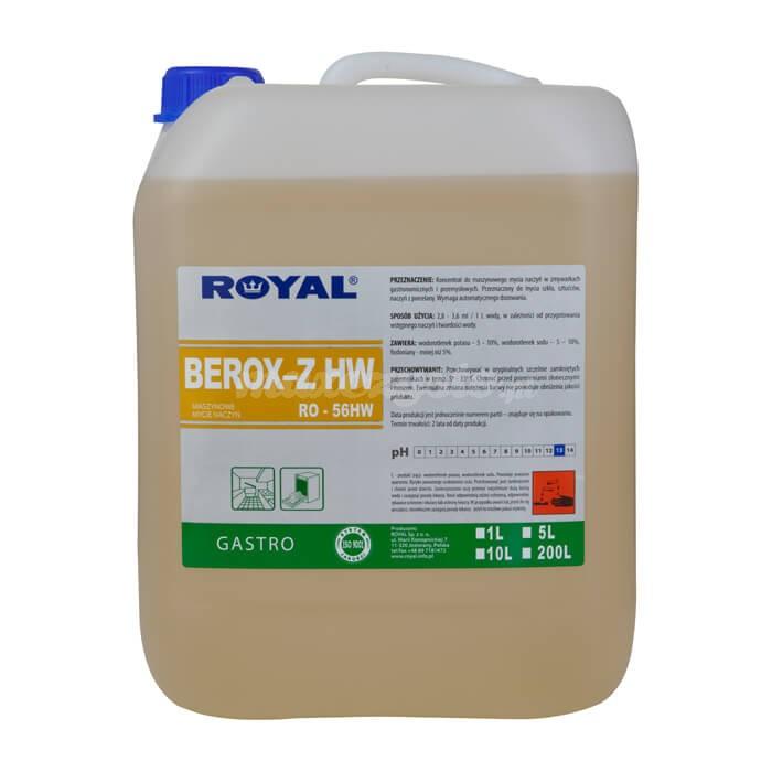 Royal RO-56HW BEROX-Z HW 5L Koncentrat do maszynowego mycia naczyń