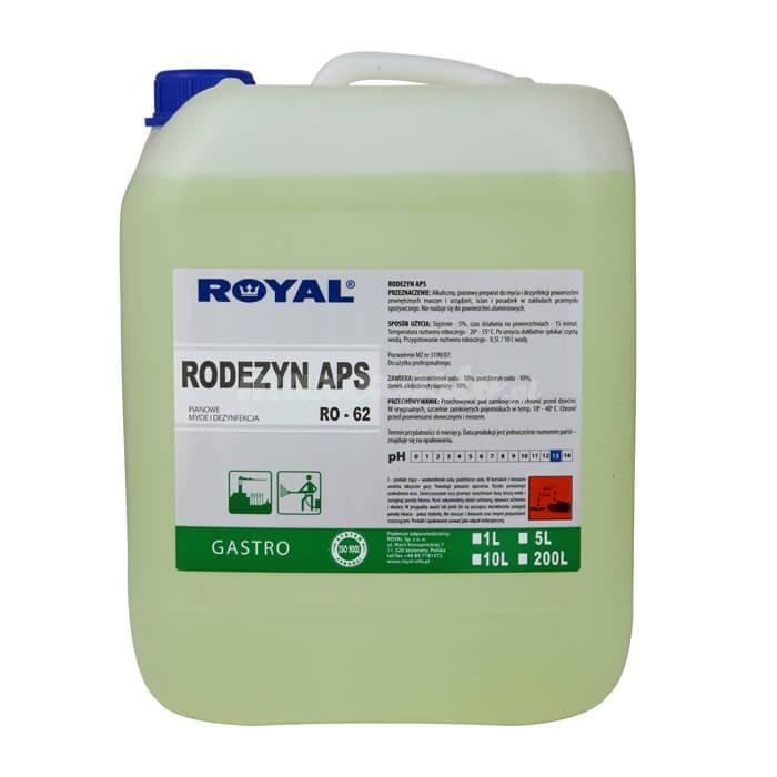 Royal RO-62 RODEZYN APS 5L Przeznaczony do mycia i dezynfekcji zewnętrznych powierzchni maszyn i urządzeń