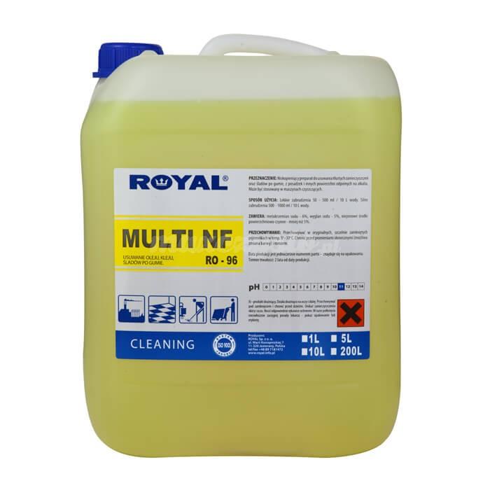 Royal RO-96 Multi NF 5L Niskopieniący preparat do usuwania tłustych zanieczyszczeń