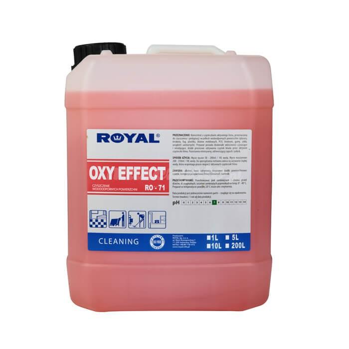 Royal Oxy Effect 5L RO-71 Koncentrat z cząsteczkami aktywnego tlenu