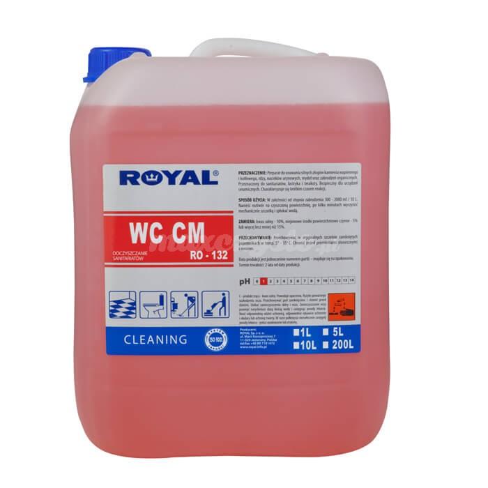 Royal RO-132 WC CM 5L Preparat do usuwania silnych złogów kamienia wapiennego