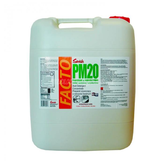 Swish Facto PM 20 Kwasowy Preparat Czyszczący dla Obiektów Przemysłowych 5L
