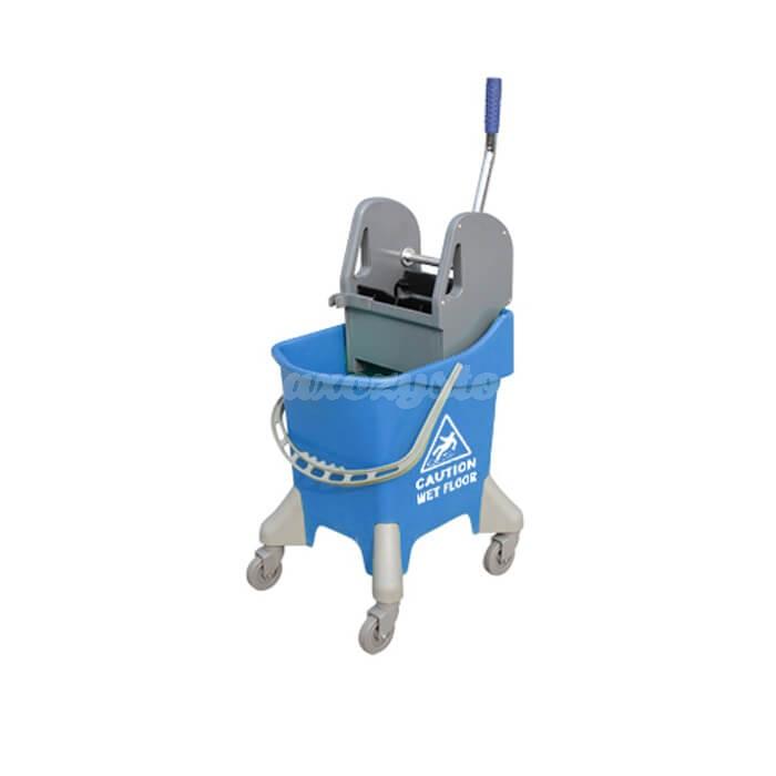 CleanPro Wózek jednowiaderkowy z prasą 1x31L