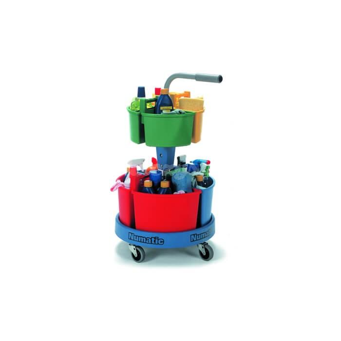 Wózek do sprzątania Numatic NC-4 Carousel