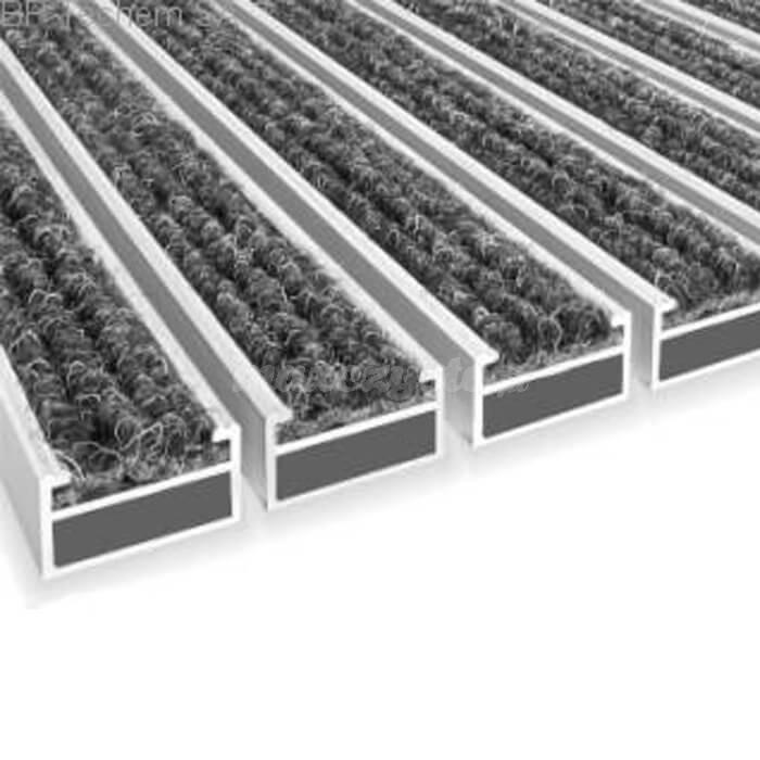 Wycieraczka Aluminiowa Clean Ryps 60 x 90 cm (17mm)