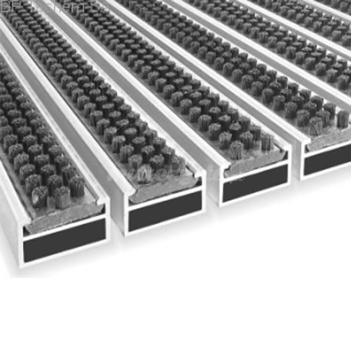 Wycieraczka Aluminiowa Clean scrub 80 x 100 cm (17mm)