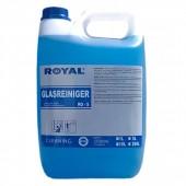 Royal RO-5 GLASREINIGER 5L  Preparat przeznaczony do czyszczenia szyb, okien