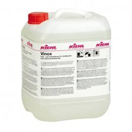 Kiehl Vinox 10L Płyn do usuwania wapna i tłuszczu w kuchniach przemysłowych i zakładach przemysłu spożywczego