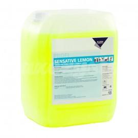 Kleen Sensative Lemon 10L Pielęgnujący środek czyszczący. Wysycha szybko nie pozostawiając smug