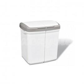EcoBin Kosz do segregacji Śmieci 2x25L