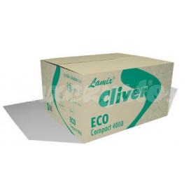 Lamix Cliver Eco Compact 4000 Zielony - Ręcznik papierowy ZZ