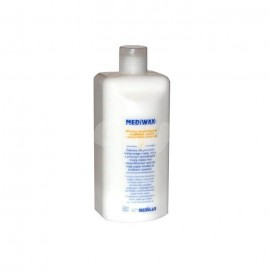 Medilab Mediwax 500ml do pielęgnacji wrażliwej, suchej oraz podrażnień skóry rąk i ciała.
