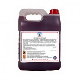 Norenco Sanicid Koncentrat 5L Usuwa zanieczyszczenia organiczne oraz lekkie osady mineralne