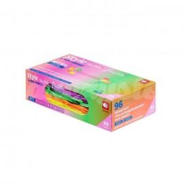 Jednorazowe Rękawice Medyczne Tutti Frutti (96szt.) Rozmiar L