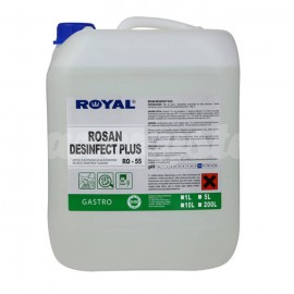 Royal RO-55 ROSAN DESINFECT PLUS 5L Preparat myjąco - dezynfekujący