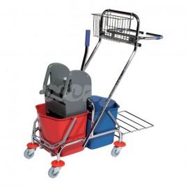CleanPro Wózek dwuwiaderkowy 2x17l PREMIUM (352607)