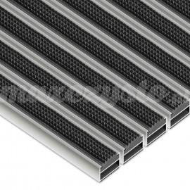 Wycieraczka Aluminiowa Clean Rubber (Wkład Gumowy)