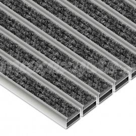 Wycieraczka Aluminiowa Clean Ryps (Wkład Tekstylny)