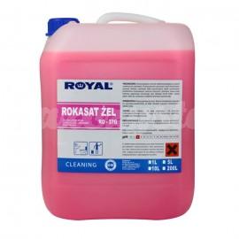 Royal RO-37G ROKASAT ŻEL 5L Preparat w żelu do codziennej pielęgnacji urządzeń i pomieszczeń sanitarnych