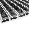 Wycieraczka Aluminiowa Clean rubber 80 x 100 cm