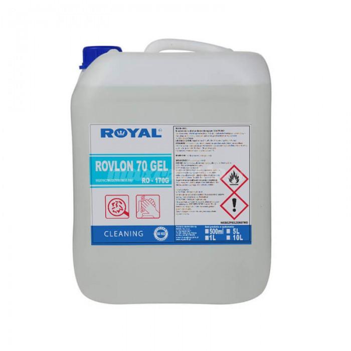 Royal Rovlon 70 Gel do higienicznej dezynfekcji rak 5L