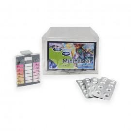 Minitester Zestaw testowy do szybkich pomiarów wartości pH i chloru w wodzie basenowej