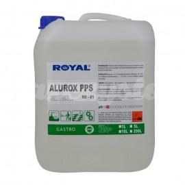 Royal RO-61 ALUROX PPS 5L Usuwa osadymineralne i rdzę z maszyn i urządzeń