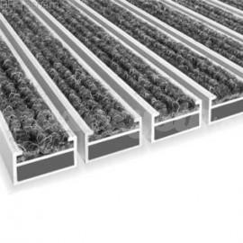 Wycieraczka Aluminiowa Clean Ryps 80 x 100 cm (17mm)